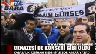 Müslüm Gürses Vefat Etti Öldü Cenazesi Müslümcü Hayranlari Ve Hayati Orhan Gencebay4.3.2013