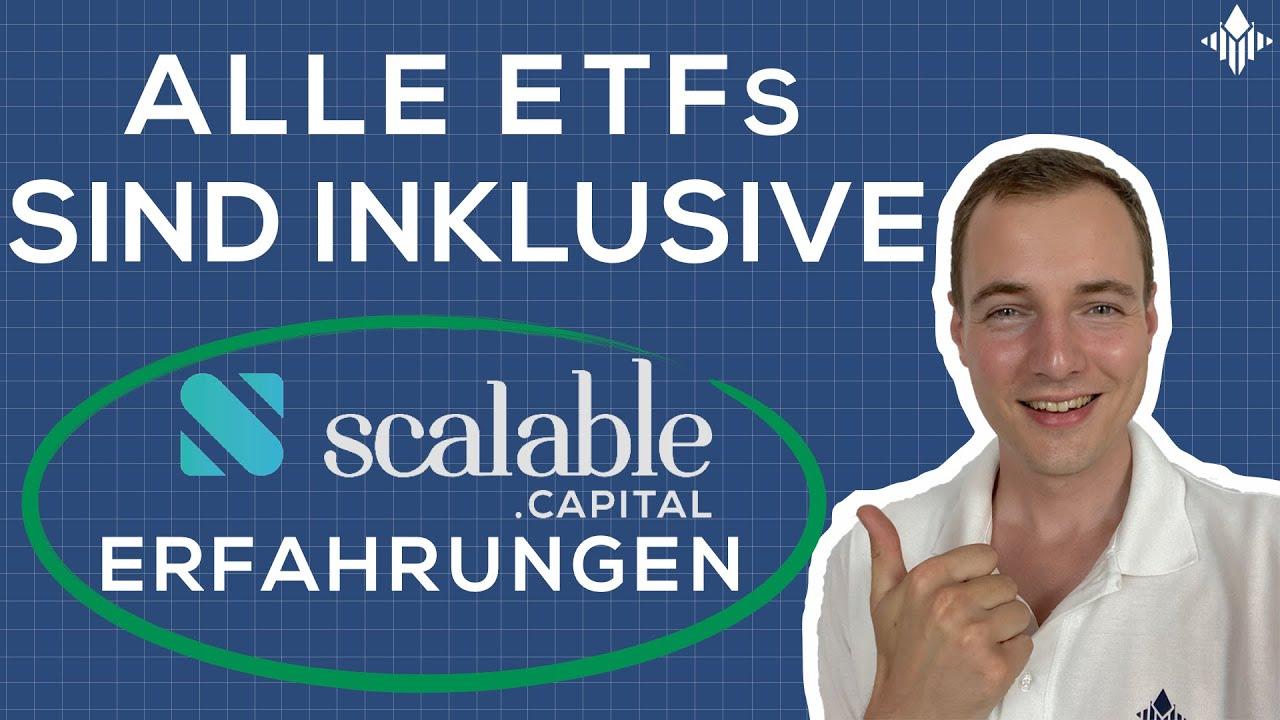 Scalable Capital Broker - Lohnt sich das ETF-Sparplan im Abo?