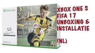 XBOX ONE S FIFA17 BUNDEL UNBOXEN! (Nederlands)