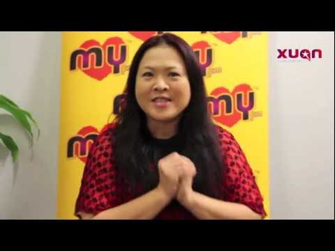 龙年快乐:MY FM DJ Vivian卓卉勤来拜年咯!