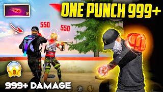 New One Punch Man Fist with 999+ Damage🤯🔥Must Watch !!