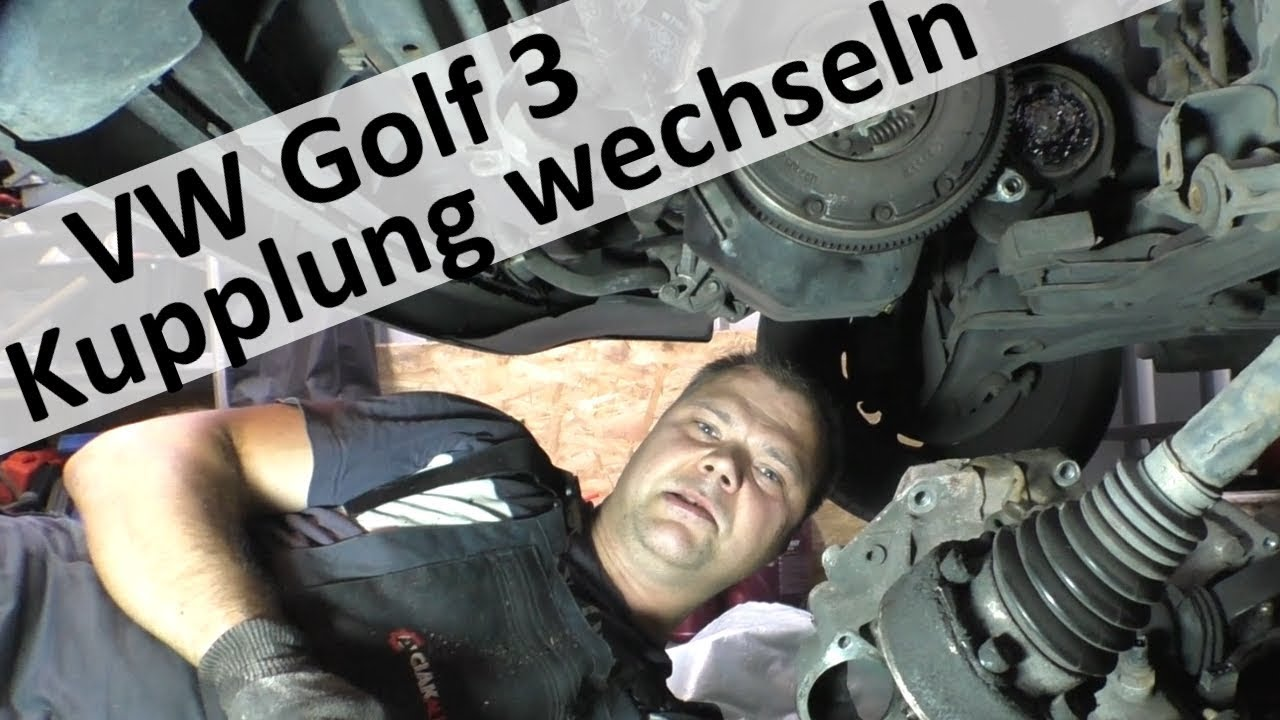 golf 3 kupplung wechseln youtube. Black Bedroom Furniture Sets. Home Design Ideas