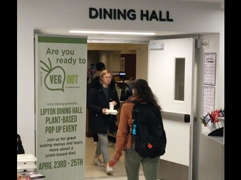 NYU Goes Vegan
