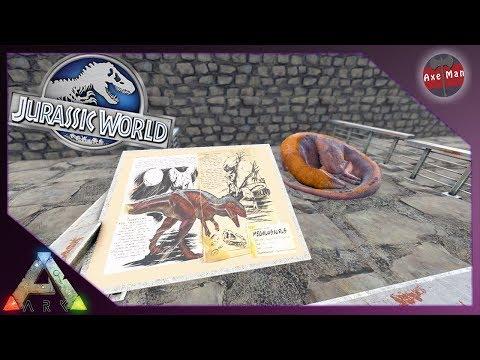VISITOR CENTER INTERIOR DESIGN | ARK SURVIVAL EVOLVED [JURASSIC PARK MOD EP14]