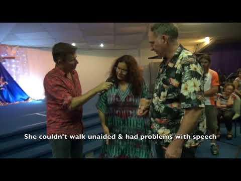 Chronic painful fibromyalgia epileptic seizures & slurred speech healed - John Mellor Miracles