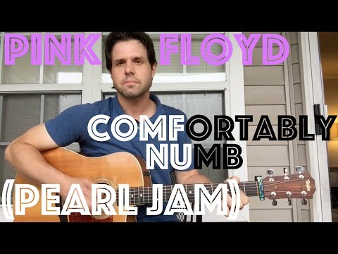 Guitar Lesson: How To Play Comfortably Numb By Pink Floyd (Like PJ too!)