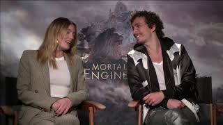 "Chat With the Stars: Leila George, Robert Sheehan  ""Mortal Engines"""
