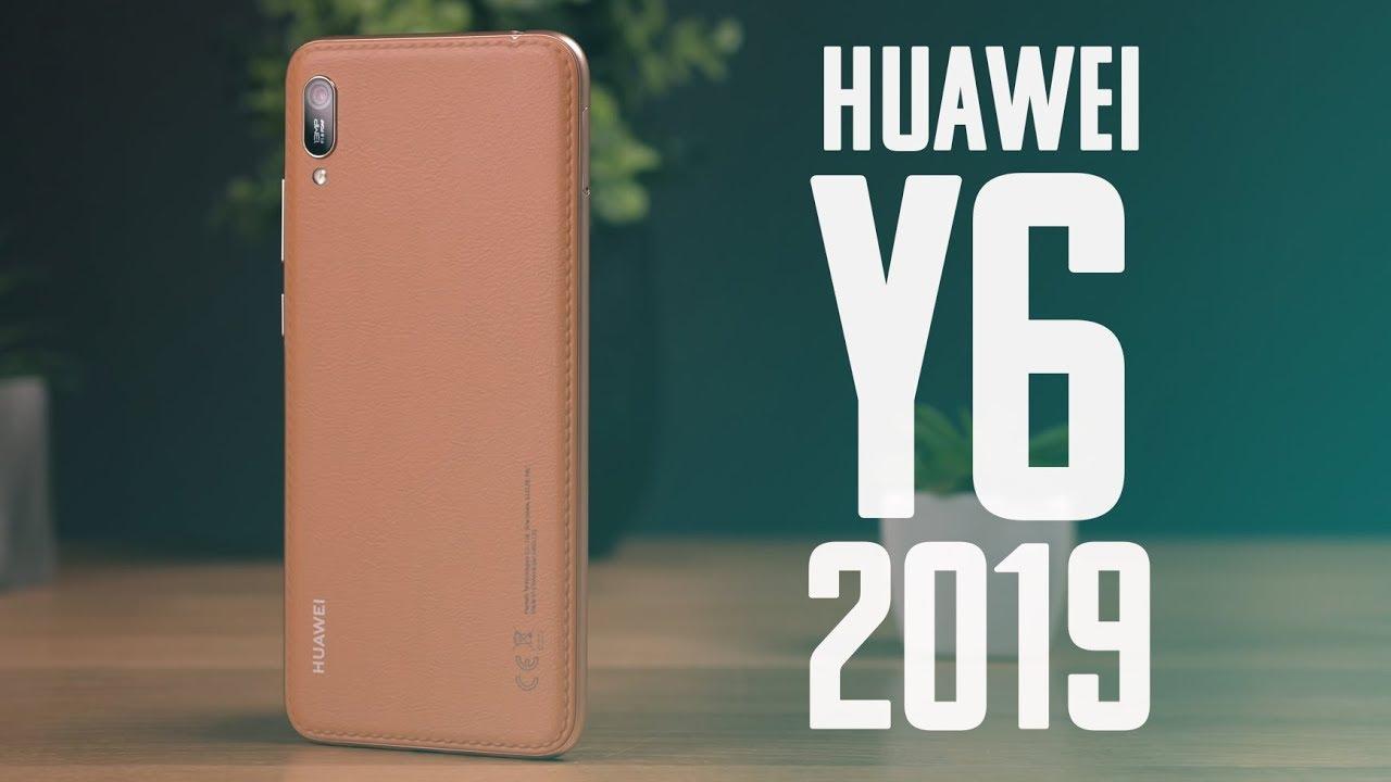 КОЖА, ВЫРЕЗ, FACE UNLOCK - Обзор Huawei Y6 2019