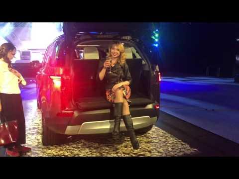 Новый Land Rover Discovery первый показ.