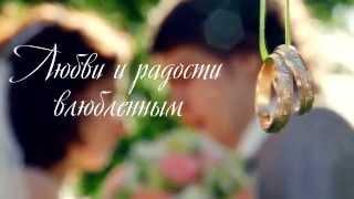 Красивая свадьба в Царицыно