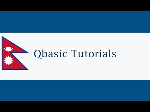 Qbasic Tutorial-2 Conditional Statements If Else