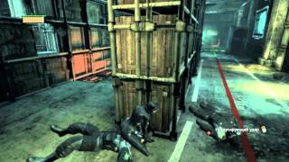 Batman Arkham City: Файтинг