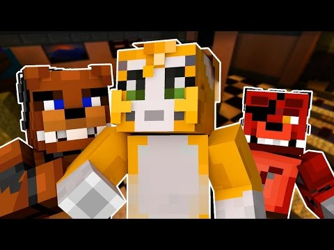 Stampy Cat Goes Into Five Nights At Freddy's (Night 1)  - Minecraft Roleplay