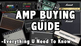 Guitar Amp Purchasing Guide Tube Solid State Digital All U Need To Know