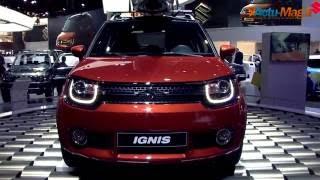 Mondial Automobile 2016 : Grande première pour le Suzuki SUV Compact Ignis !