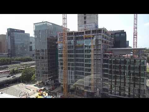 CBRE World Trade Center Amsterdam Bouw