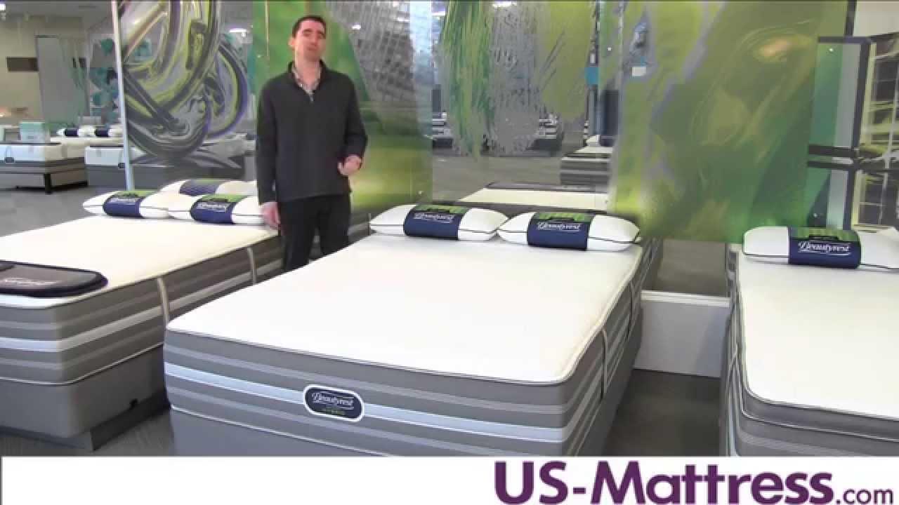 simmons beautyrest recharge hybrid vivian luxury firm mattress youtube