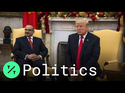 Trump Hosts Bahrain Crown Prince in Oval Office