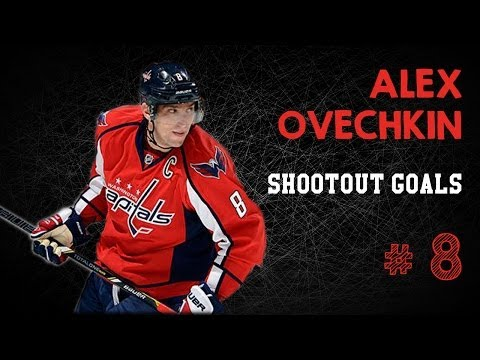 Alex Ovechkin Shootout Goals Compilation [HD]