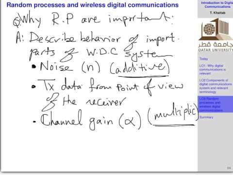 ELEC 447 Fall 2014 - L2: Digital Communications