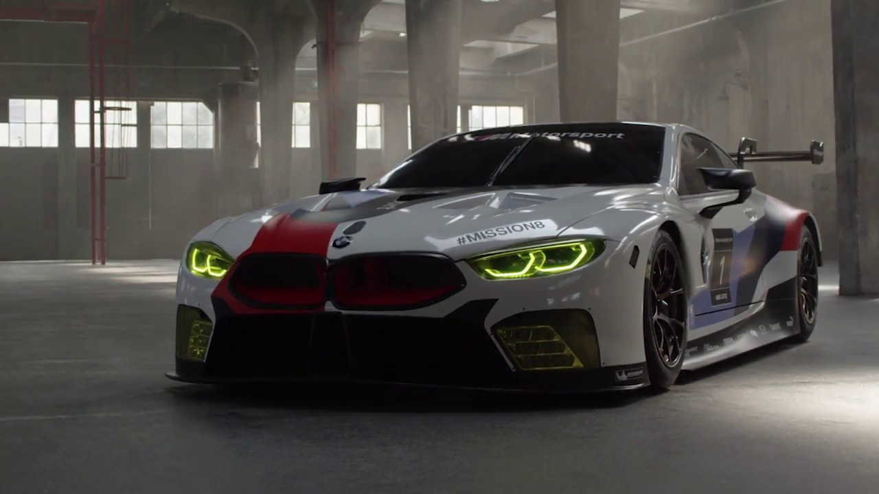 "BMW M8 GTE: ""The most determined race car we have ever built."" – BMW Motorsport.  YouTube"