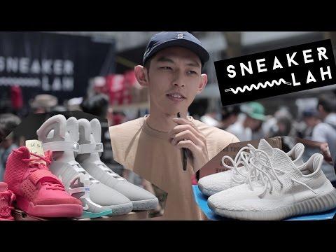 SneakerLah 2016 有 Nike Air Mag? [Eng Sub] Nike Air Mag at SneakerLah 2016.