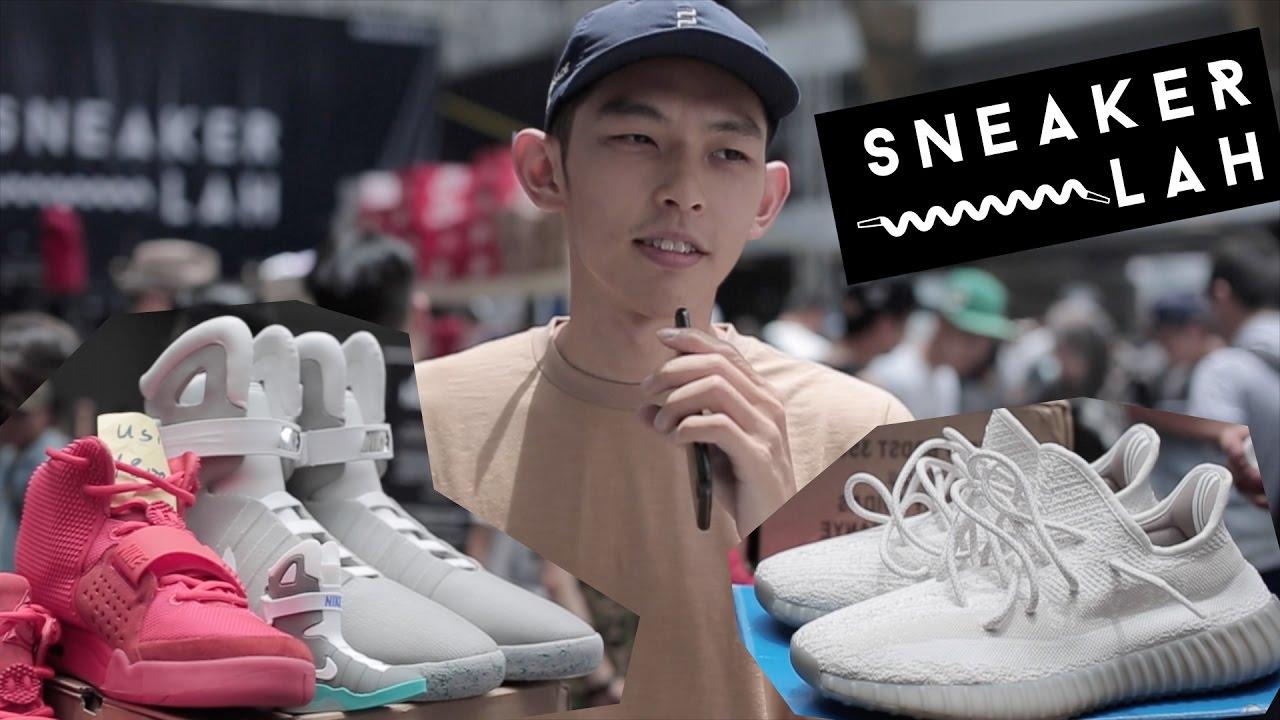 19673b94 SneakerLah 2016 有Nike Air Mag? [Eng Sub] Nike Air Mag at SneakerLah 2016.
