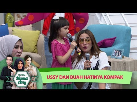Imut Banget Sih! Elea dan Ussy Nanyi Bareng - Rumah Mama Amy (12/7)
