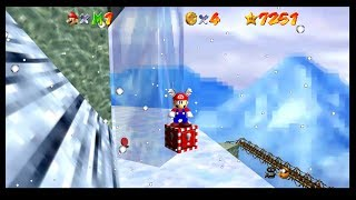 Super Mario 64 - Wing Cap in Cool Cool Mountain? [TAS]
