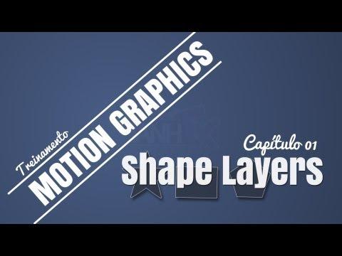 Treinamento Motion Graphics: #01 - Introdução Shape Layers