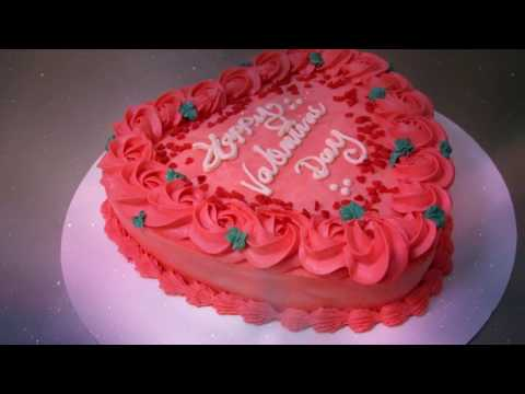 Valentines Day Cake (Fiesta Cakes) By: Angie Credes