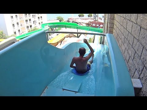 Scary Falls Water Slide at Marmaris Atlantis Waterpark