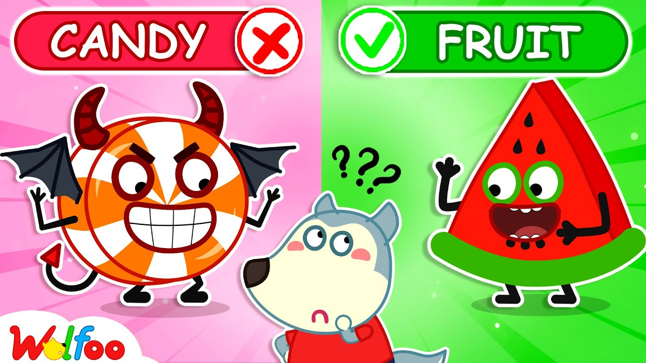 Wolfoo! Yes Fruits No Sweets - Yes Yes Stay Healthy - Learn Healthy Habits for Kids | Wolfoo Channel