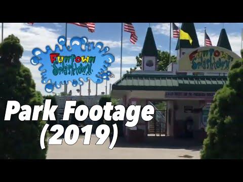 Funtown Splashtown U.S.A. Park Footage (2019)