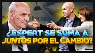 ¿José Luis Espert se suma a Juntos por el Cambio?