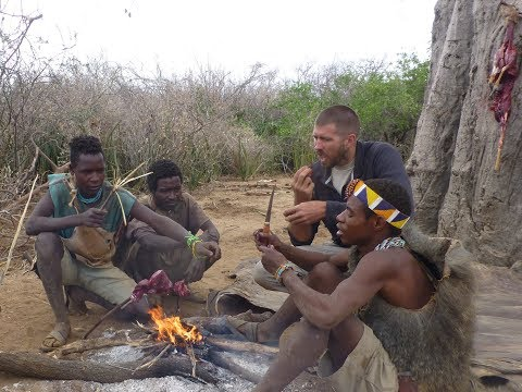 Bow Hunting And Foraging With The Hadza Bushmen- Tanzania, East Africa