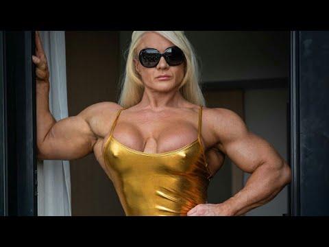 Huge fbb world 39 s strangest female bodybuilder lisa - Lisa cross fbb ...