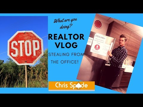San Diego Realtor Vlog--Stealing Food at the Office!