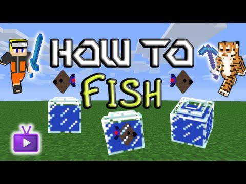 Minecraft How To: Mo' Creatures - Pet Fish
