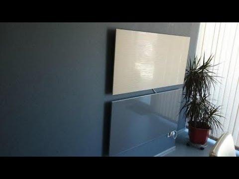 Экономичное отопление дома 133 м2 самодельными керам панелями