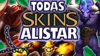 ALISTAR / TODAS las SKINS de ALISTAR ( All Alistar Skins ) / Descripción y Cambios / SKINS LOL