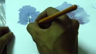 Hướng dẫn vẽ kiến trúc - màu nước căn bản_DinhHaiKTS [full HD]