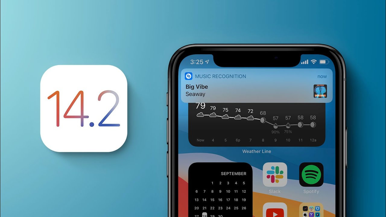 Ios 14 2 Top Features Music Recognition Redesigned Now Playing More Youtube