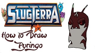 How To Draw Pyringo (SLUGTERRA)