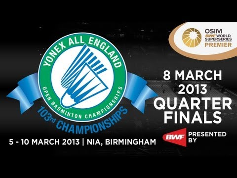 QF - MS - Lee Chong Wei vs Nguyen Tien Minh - 2013 Yonex All England