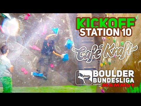Boulder Bundesliga 2017 | Café Kraft Stuttgart - Kickoff