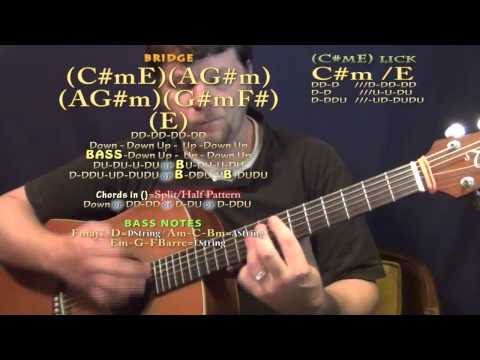 Watching Airplanes (Gary Allan) Guitar Lesson Chord Chart