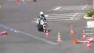 島根県警交通機動隊 白バイ競技会 thumbnail