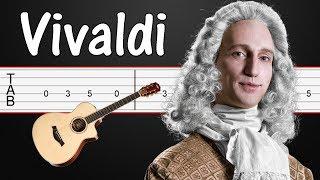 Summer Storm - Antonio Vivaldi (Four Seasons) Guitar Tabs, Guitar Tutorial