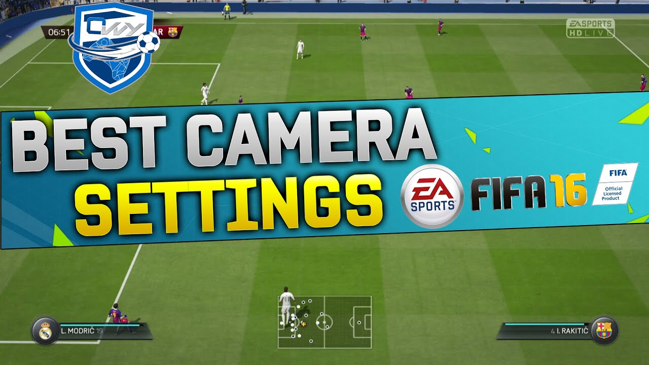 Fifa  Best Camera Settings Tutorial Best Camera Angle For Fifa  Xbox Playstation Youtube